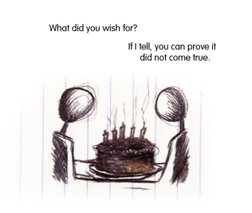 I think you burnt the cake.