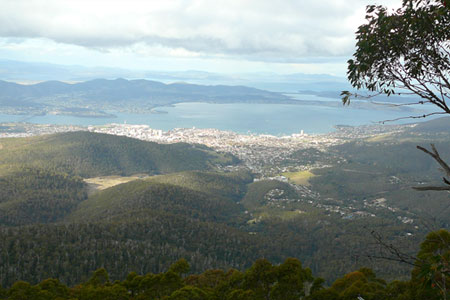 Hobart below
